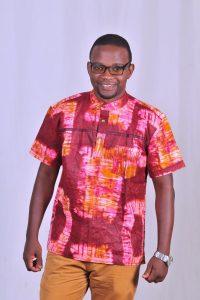 Tie Dye African Print Men Shirt