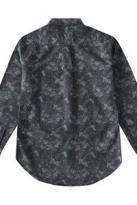 Men's Cotton Oxford Shirt in Digital Print