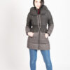 Down Filled Hooded Puffer Coat