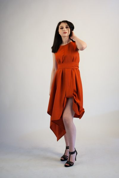 Sienna Orange Terracotta Dress