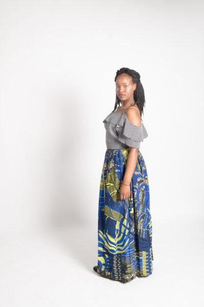 Call it gorgeous long slit skirt