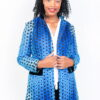 Isaro Identity Collection Blue Jacket Front