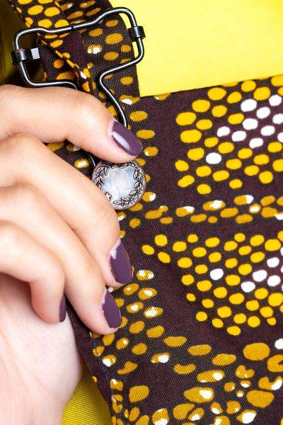Leopard Print Short Dungarees