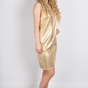 Gold Party Dresses For Women by Isaro