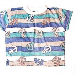 Anchor Design Boys T-shirt by Isaro. Boys 2-3yrs