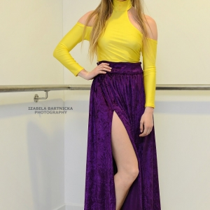 Maxi Skirt With Yellow Top